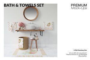 Bath & Towels Set