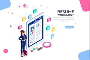 Workshop for Resume Writing Banner