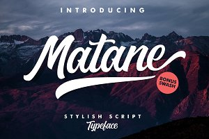 Matane Typeface + Swash