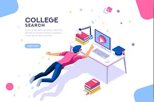 College Search University Banner