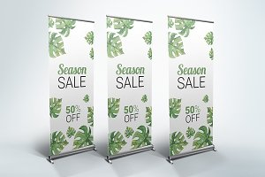 Discount Roll-Up Banner
