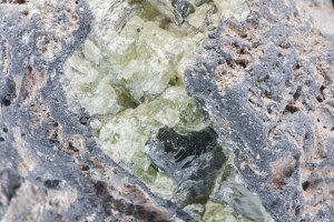 greenish ore