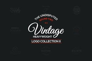 Vintage Logo Collection Round 2