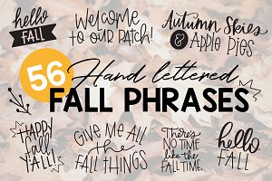 Fall Phrases Font