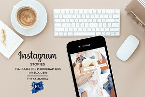 Instagram Stories Photoshop Template