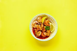 Grilled Prawn Shrimp