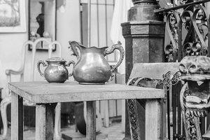 Vintage Objets in Black and White