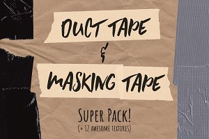 Duct & Masking Tape Super Pack! +