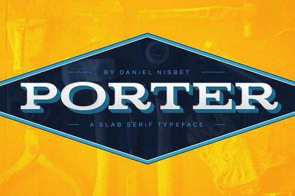 Porter - A Slab Serif Display Font