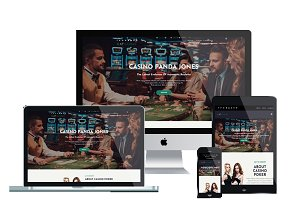 AT Casino Onepage Joomla template