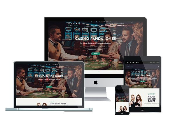 Joomla Themes: Age Themes - AT Casino Onepage Joomla template