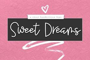 Sweet Dreams - Script Font