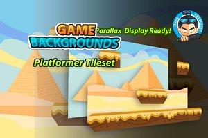 Plat Former Game BG 07