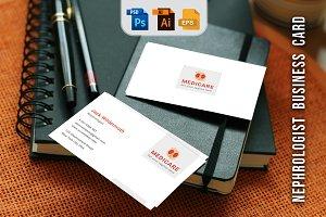 Nephrologist Business Card