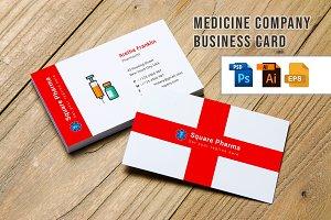 Medicine Company Business Card