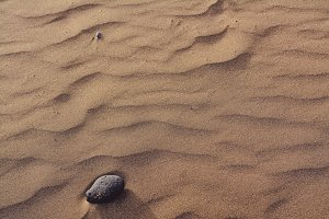 Zigzag and sand dunes, sand texture