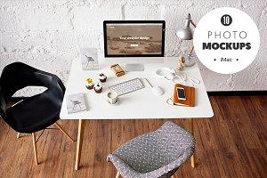 iMac  - 10 photo mockups
