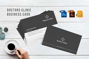 Doctors Clinic Business Card