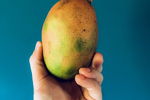 beautifully sweet and organic mango