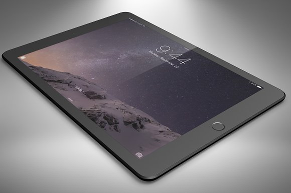 Apple iPad Air 2 Mock Up Vol. 2 - Product Mockups