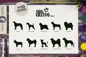 Dog Breeds Vol3 x10 + Bonus