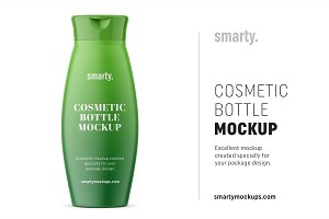Conditioner Bottle Mockup