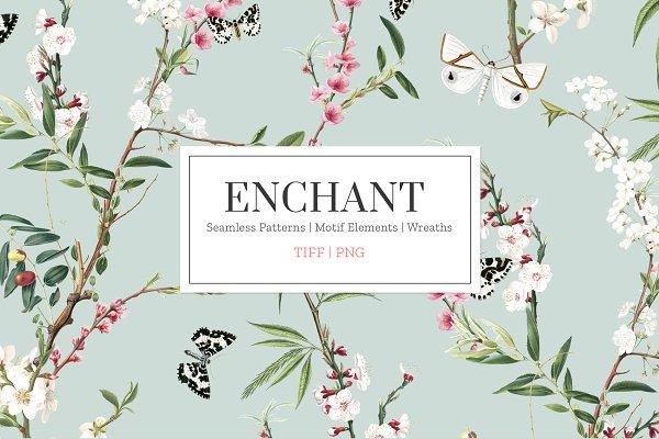 Patterns: Pink Linen - Enchant, Elegant & Exquisite!