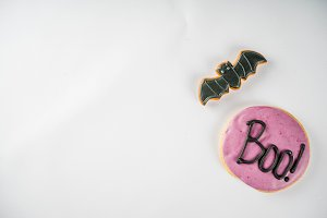 Traditional Halloween cookies