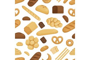 Bread and other bakery foods in