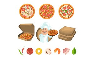 Fast food for party or italian lunch
