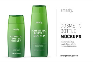 Conditioner Bottle Mockups
