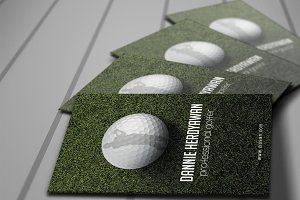 Golf Business Card