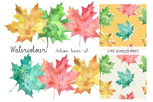 """Autumn Leaves"" set"