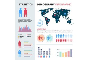 Infographic concept design of people