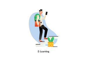 E-learning Education Internet