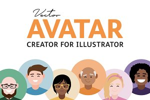 Vector Avatar Creator (Illustrator)