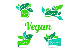 Bio, Ecology, Organic logos and