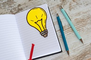 Notes of creativity in blog