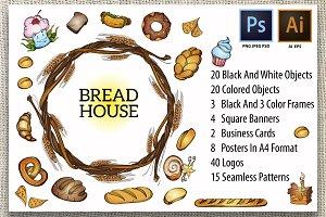 Bread house kit