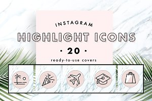 Instagram Story Highlight Covers