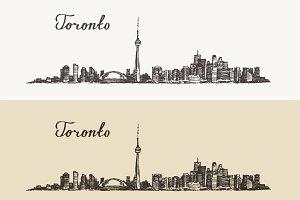 Toronto skyline (Canada)