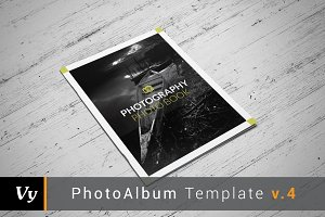 Clean Photo Album Template