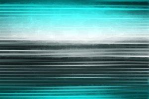 Horizontal aqua blur lines illustrat