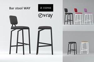 """Bar stool """"WAY"""""""