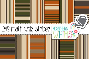 Fall Stripe Seamless Patterns