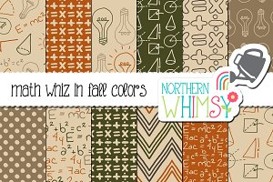 Back To School - Fall Math Patterns