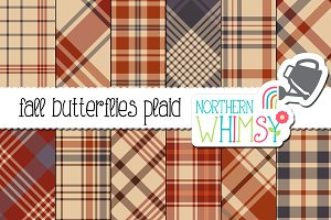 Autumn Plaid Patterns