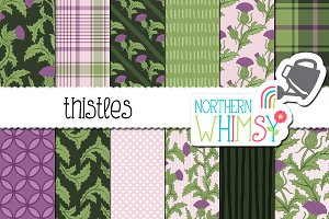 Floral Patterns - Thistles