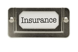 Insurance File Drawer Label