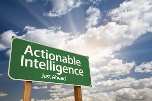 Actionable Intelligence Road Sign